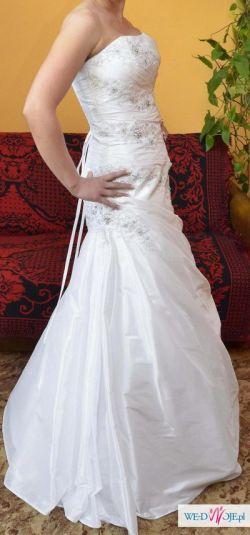 Sprzedam suknię ślubną + dodatki!!!