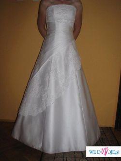 Sprzedam suknie ślubną Duber biała z salonu