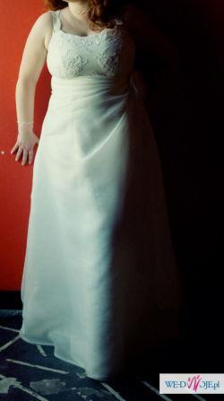 Sprzedam suknię ślubną - duży rozmiar