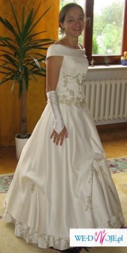 Sprzedam suknię ślubną dwuczęściową