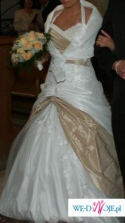 Sprzedam suknie ślubną, dwuczęściową, stan bardzo dobry