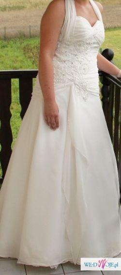 Sprzedam suknię ślubną ecru - Cascaya - Kreacja Żannet