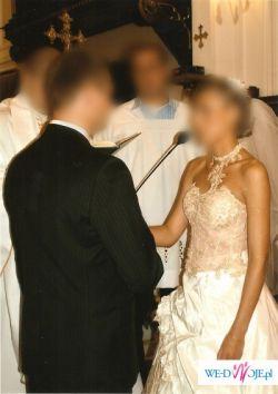 Sprzedam suknię ślubną Emmi Mariage rozmiar 38