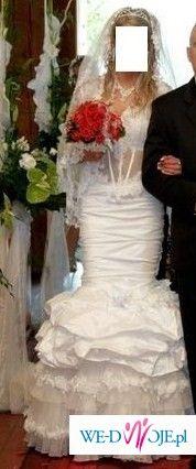 sprzedam suknie slubna farage frappe model 2008