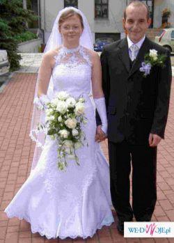Sprzedam suknię ślubną - fason SYRENKA