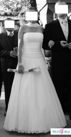 Sprzedam suknię ślubną firmy Agnes model 1756 - szal 15