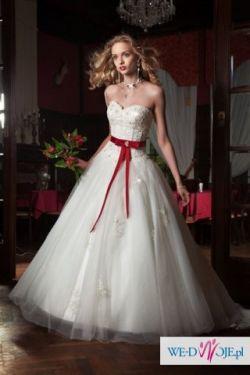 Sprzedam suknie ślubną firmy Annais, model pompadoumarie 2010.