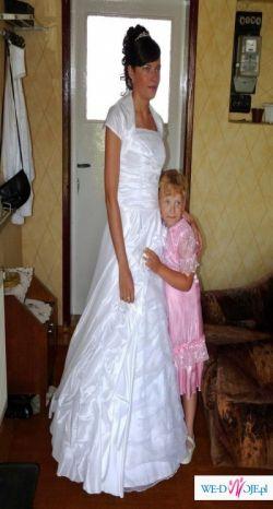 sprzedam suknię ślubną firmy ASPENA rozm. 38