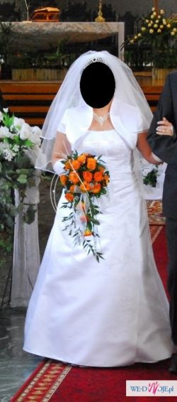 Sprzedam suknię ślubną firmy Gala – model Ella + GRATISY !!!