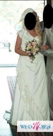 Sprzedam suknię ślubną firmy Gala gratis halka