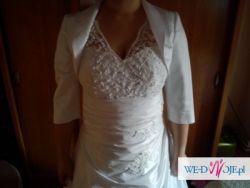 Sprzedam suknię ślubna firmy Gala roz.46
