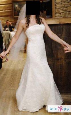 Sprzedam suknię ślubną firmy Gala-welon i satynowe buty gratis!