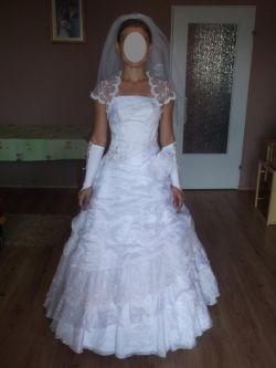 Sprzedam suknię ślubną firmy Valentt Collection.  Rozmiar ok 34/36.