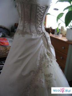 Sprzedam suknię ślubną francuskiej firmy Farage.