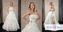 Sprzedam suknię ślubną FULARA & ŻYWCZYK Aisha + bolerko + welon + halka