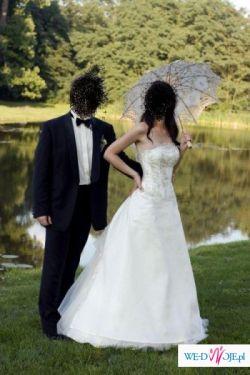 Sprzedam suknię ślubną Galaxy New York model Emilka