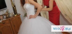 Sprzedam suknie ślubną gratis bolerko welon