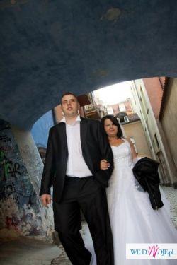 Sprzedam suknię ślubną + gratis suknia grecka na przebranie !