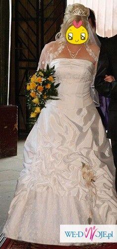 Sprzedam Suknie Ślubną+gratisy