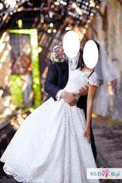Sprzedam suknię ślubną Haft Richelieu