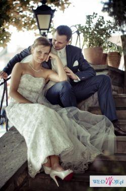 Sprzedam Suknię ślubną Herm's Glamour