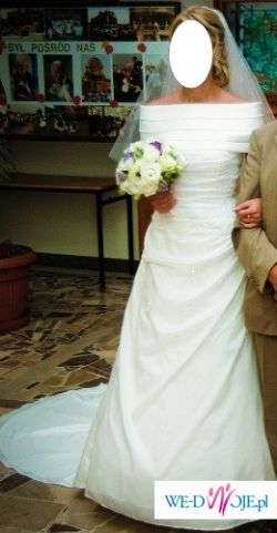 Sprzedam suknię ślubną Herm's Kossuth