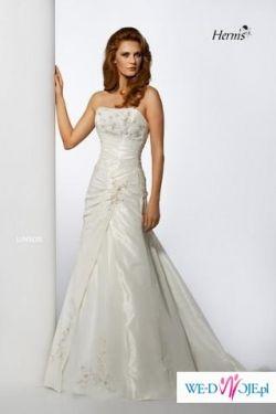 Sprzedam suknię ślubną HERM`S LINSOR