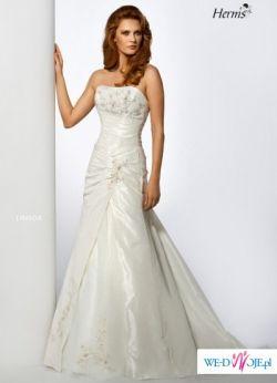 Sprzedam suknie ślubną HERM'S LINSOR