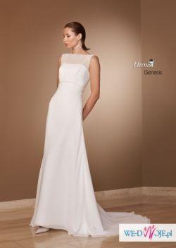 Sprzedam suknię slubną Herm's model Genesis z kolekcji 2010