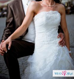 sprzedam suknie ślubną herms - baden ecru