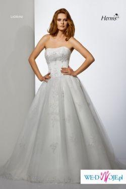 Sprzedam suknię ślubną Herms model Liorini rozmiar 34/36