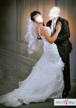 Sprzedam suknie ślubną hiszpankę