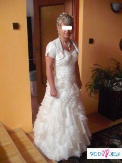 sprzedam suknię ślubną ,,hiszpankę''