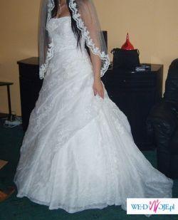 Sprzedam suknię Ślubną hiszpańskiego projektanta San Patrick model Baviera