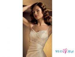 Sprzedam suknię ślubną hiszpańskiej firmy LA SPOSA model GOTICO z kolekcji 2006