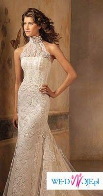 sprzedam suknię ślubną hiszpańskiej firmy Pronovias, model LARIS