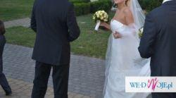 Sprzedam suknie ślubną i dwa welony (długi i krótki)