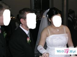 SPRZEDAM suknię ślubną  (idealna dla kobiety w ciąży do 5 miesiąca)