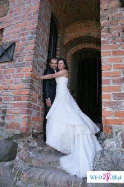 Sprzedam suknię ślubną Kivor Herm's roz.40