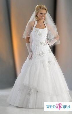 Sprzedam Suknię Ślubną, koronkowe buty