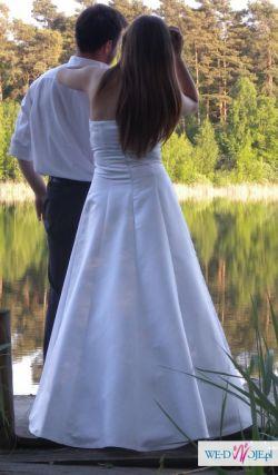 Sprzedam suknię ślubną!!!! kryształki SWAROVSKIEGO!!!!!