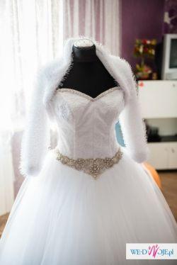 Sprzedam suknię ślubną - księżniczka