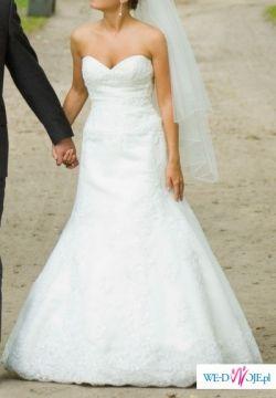 Sprzedam suknię ślubną La Sposa 2009 model FLAMA r.34/36