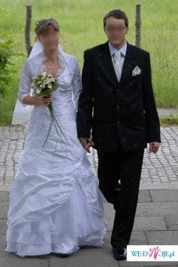 """Sprzedam suknię ślubną """"Larysa"""" z dodatkami"""