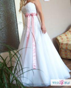 Sprzedam suknię ślubną Lisa Ferrera Colet 62437