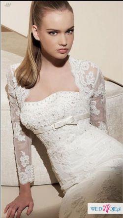Sprzedam suknie ślubną Lorna - white one 427 + oryginalne bolerko