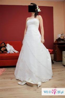 sprzedam suknie ślubną madam zaręba salwina ciążowa