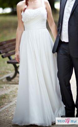 Sprzedam suknię ślubną Madonna, La Sposa - Ladera. rozm.34. 1000zł do negocjacji