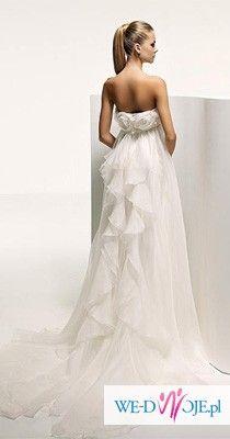 Sprzedam suknię ślubną Manuel Mota -Valdemar z salonu Madonna w Warszawie