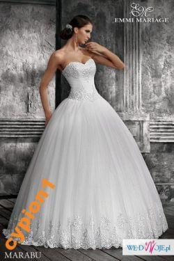 449d33141d Sprzedam suknię ślubną MARABU rozm. 38 - Suknie ślubne - Ogłoszenie ...
